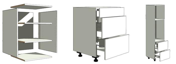 Zelf Keuken Maken Goedkoper : keukenkasten-bouwpakket